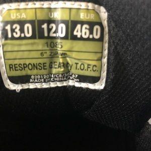 response g Shoes - Response gear men's boots size 13 black